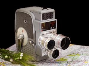 Keystone Regular 8mm Camera
