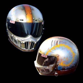 Blake Tatum's Crusader helmet.